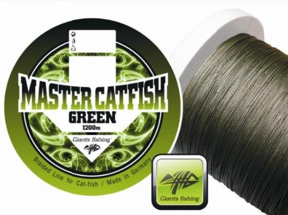 pletená šňůra master catfish