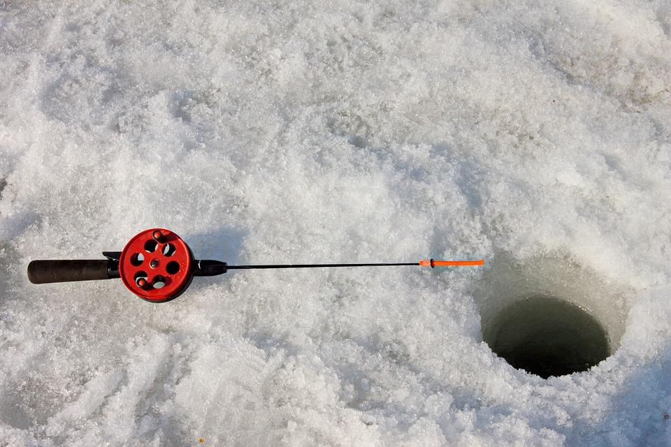 rybaření na dírkách