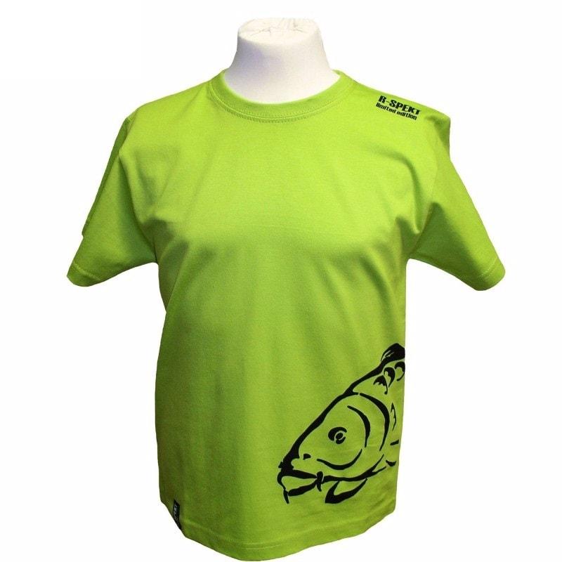 R-Spekt Dětské tričko Carper kids pistáciové - 3/4 let