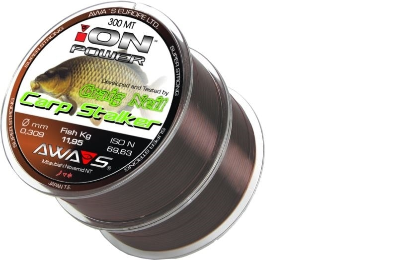 Awa-S Vlasec Ion Power Carp Stalker 2x300m - 0,28mm