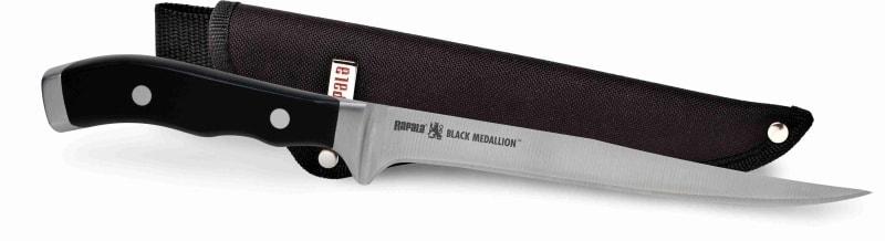 Rapala Filetovací nůž Black Medallion Fillet Knife 18cm
