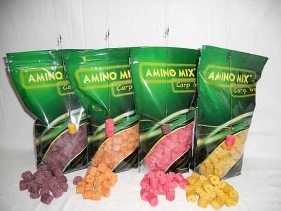 Amino Mix Kukuřičné pelety - 17mm s otvorem 1kg