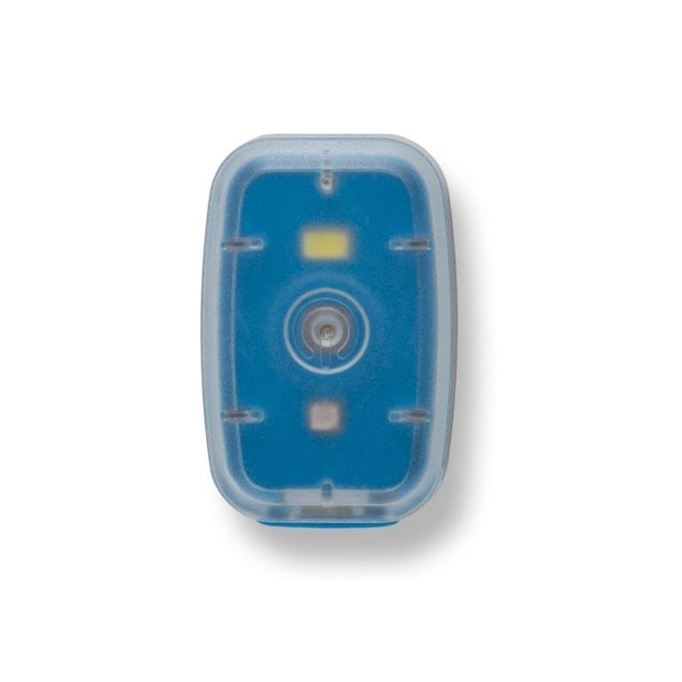Silverpoint Světelný klip Clip Light dobíjecí modrý