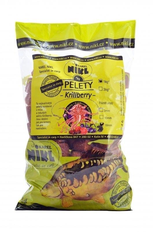 Nikl Pelety KrillBerry - 3mm 1kg
