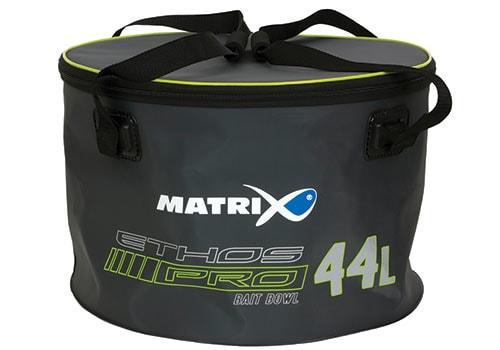 Matrix Míchačka na krmení Ethos Pro EVA Groundbaits with lid & handles 44l