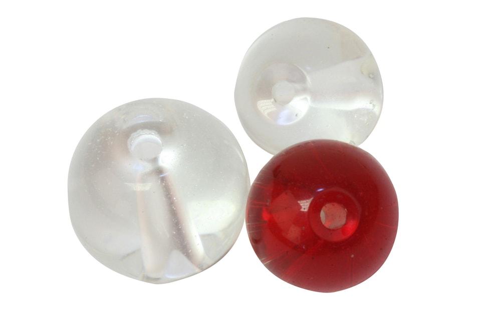 Fox Rage Skleňené kuličky Glass Beads 10ks - 8mm Red