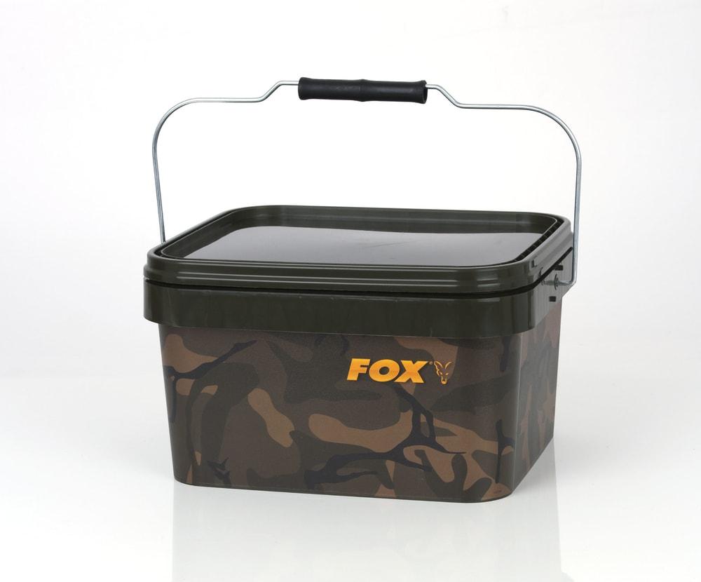 Fox Kbelík plastový Camo Square Bucket 5l