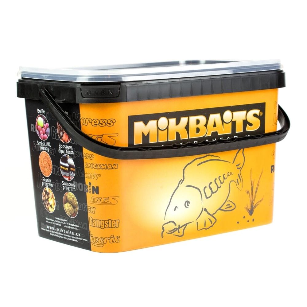Mikbaits Trvanlivé boilie Robin Fish 2,5kg - Brusinka & Oliheň 16mm