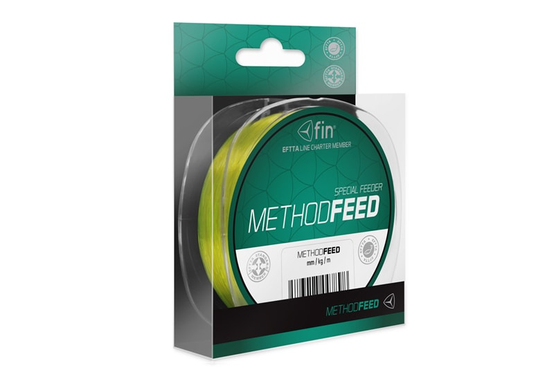 Fin Vlasec Method Feed Žlutý - 0,28mm 14,3lbs 150m