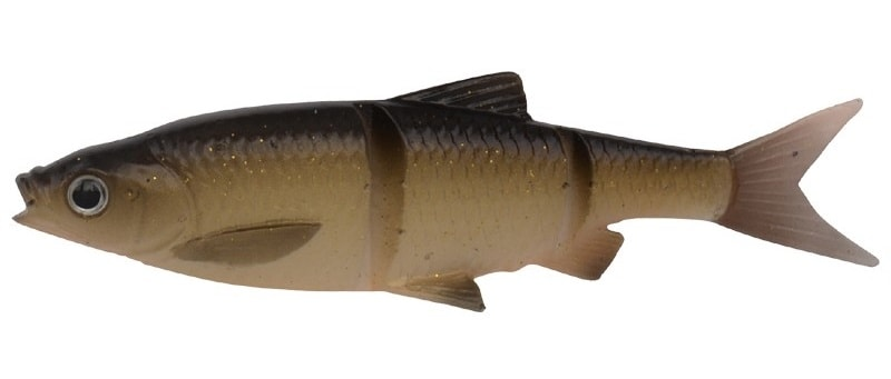 Savage Gear Gumová Nástraha 3D LB Roach Swim N Jerk Dirty Roach 4 ks - 7,5cm 4g