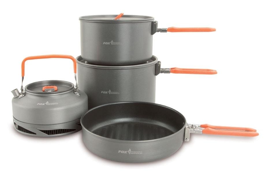 Fox Čtyřdílná sada nádobí Cookware Set Large