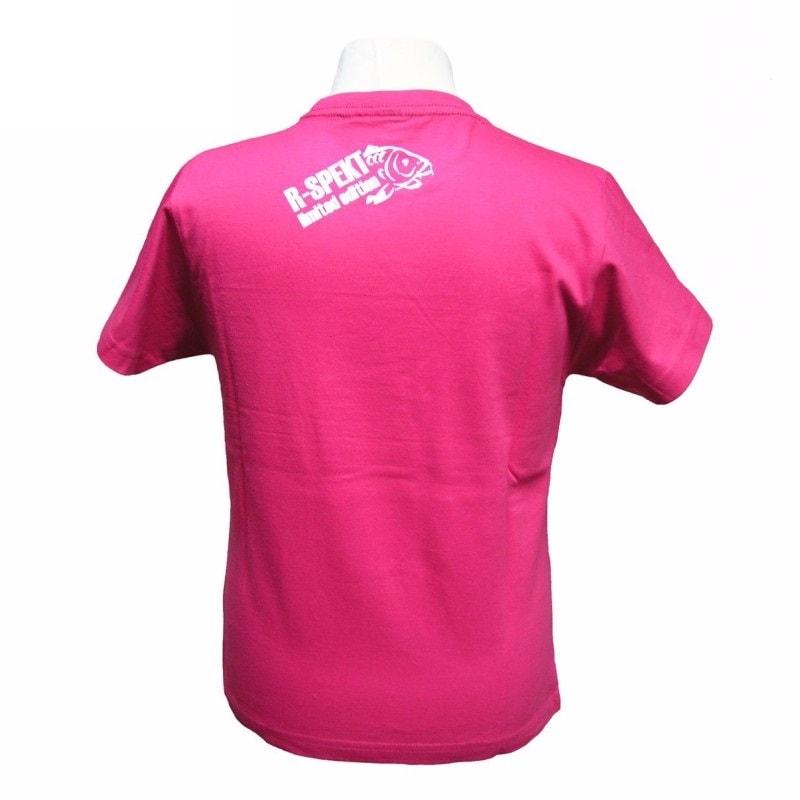 R-Spekt Dětské tričko Carper kids růžové - 9/10 let