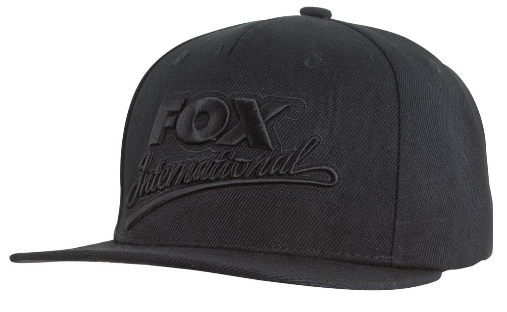 Fox Kšiltovka Black Snapback Cap  9db15bc4a4