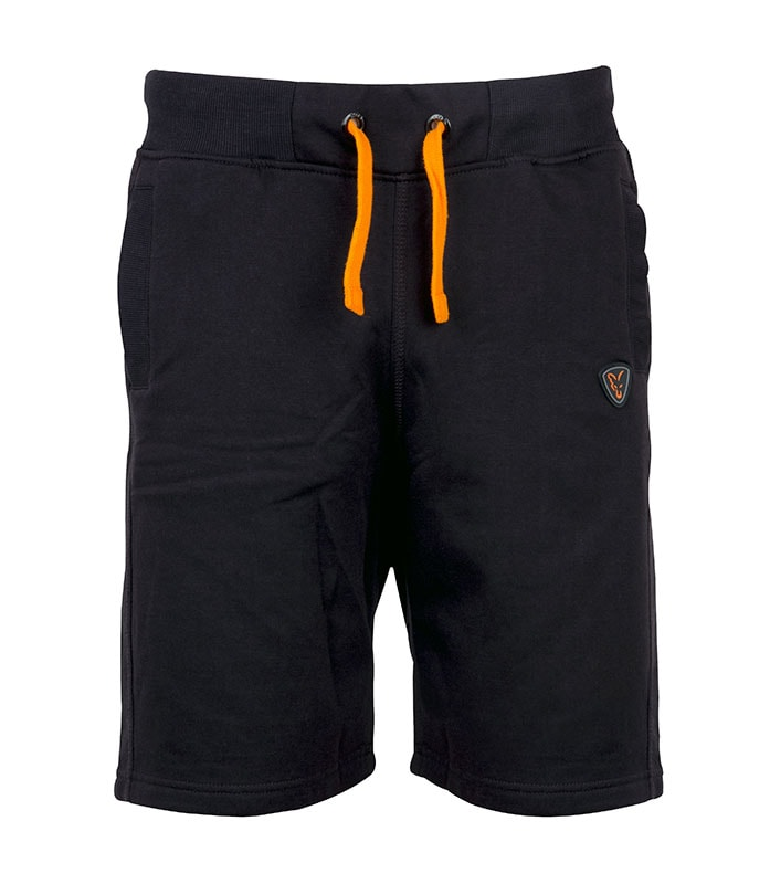 f1382248430 Fox Kraťasy Black   Orange Lightweight Jogger Shorts