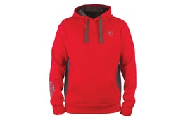Fox Rage Mikina Ribbed Hoody Red/Grey