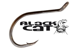 Black Cat Háčky Power Rig Haken black 6ks