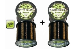 Giants Fishing Vlasec Master Balance Brown 0,26mm 1+1 ZDARMA!