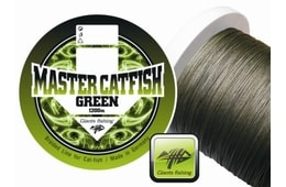 Giants Fishing Šňůra Master Catfish Green 0,60mm/1m - návin
