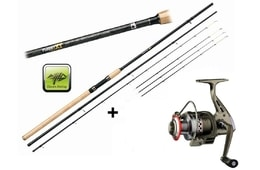 Giants Fishing Prut Fluent Feeder XT 11ft Medium + naviják zdarma!