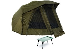 Giants Fishing Umbrella Brolly Exclusive 60 + stolek Bivvy Table ZDARMA!