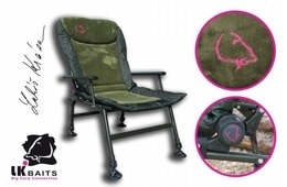 LK Baits Křeslo Camo Arm Chair