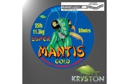 Kryston Super Mantis Gold 20m