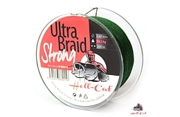Hell-Cat Splétaná šňůra Ultra Braid Strong 0,60mm 200m