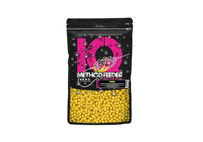 LK Baits Fluoro Boilie IQ Method Feeder 10-12mm 600g