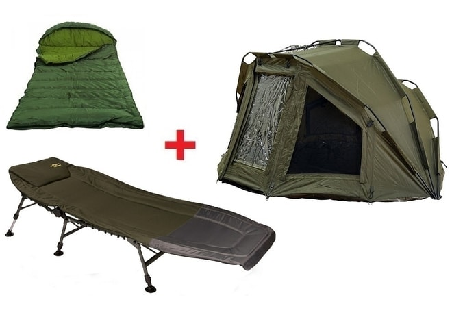 Giants Fishing Bivak Specialist XT Bivvy 2 Man + lehátko + spací pytel!