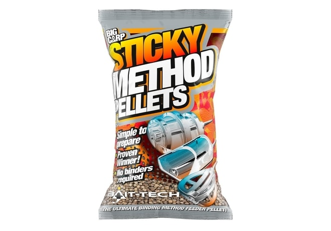 Bait-Tech Pelety měkčené Sticky Method Pellets micro 800g