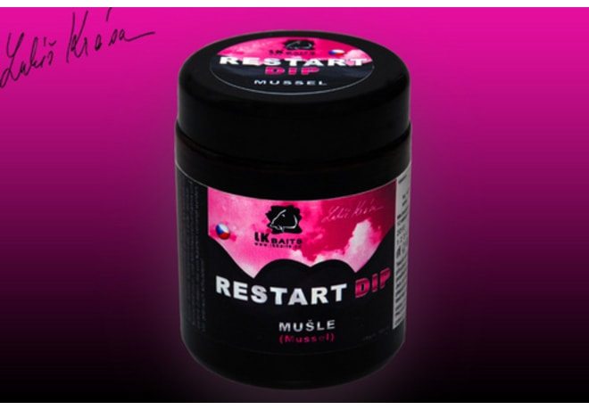 LK Baits Dip ReStart Mussel 100ml