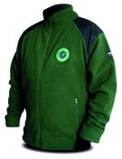 Chyť a pusť Bunda Fleece zelená Hi-Q - vel. XXXL