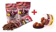 Extra Carp Magic Squid Boilie 20mm 1kg + Hard Hook Boilie Zdarma! - Liver
