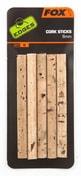 Fox Korkové válečky Edges Cork Sticks 6 mm 5ks