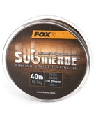 Fox Pletená šňůra Submerge Dark Camo Sinking Braid - 0,16mm / 11,3kg / 600 m