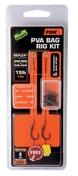 Fox Návazce Edges PVA Bag Rig Kit SSBP - 4 SSBP / 25lb Reflex Camo