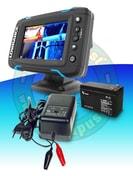 Lowrance Echolot Elite-5 Ti + TotalScan sonda + baterie + nabíječka ZDARMA