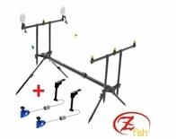 Zfish Stojan Rod Pod Classic 3 Rods + 2x Swinger Extra Carp ZDARMA!