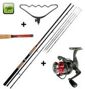 Giants Fishing Prut CLX Feeder TR 12ft Medium + hrazda + naviják zdarma!
