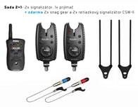 Delphin Signalizátor Roler 9V 2+1 + 2x Swinger + 2x Snag Ears