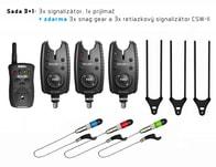 Delphin Signalizátor Roler 9V 3+1 + 3x Swinger + 3x Snag Ears