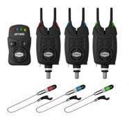 Delphin Signalizátor Optimo 9V 3+1 + 3x Swinger + 3x Snag Gear