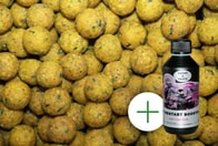 LK Baits Boilie Economic Sweet Pineapple 18mm (Sladký Ananas) 5kg + Booster ZDARMA!