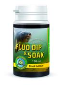 Chyť a pusť Fluo dip 150ml - Black halibut