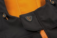Fox Softshellová Bunda Softshell Hoody Black/Orange