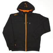 Fox Mikina s kapucí Heavy Lined Hoody Black/Orange - vel. XXXL