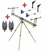 Zfish Stojan Tripod Select 3 Rods + 2x Hlásič NGT VX1 + 2x Swinger Extra Carp ZDARMA!