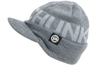 Fox Zimní čepice s kšiltem CHUNK Grey Peaked Beanie