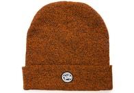 Fox Zimní čepice CHUNK Orange/Black Marl Beanie