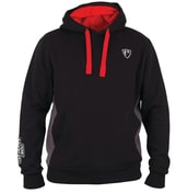 Fox Rage Mikina Ribbed Hoody Black/Grey